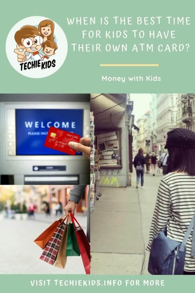 Kids Having Their Own ATM Card?, shopping